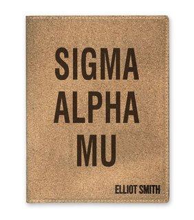 Sigma Alpha Mu Cork Portfolio with Notepad