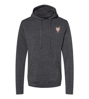 Sigma Alpha Mu Crest Gaiter Fleece Hooded Sweatshirt