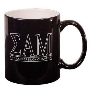 Sigma Alpha Mu Custom Ceramic Coffee Mug
