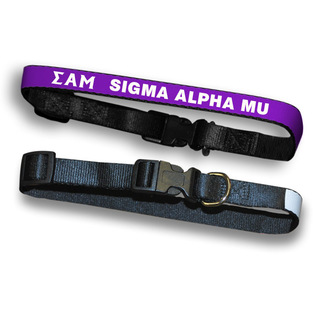 Sigma Alpha Mu Dog Collar