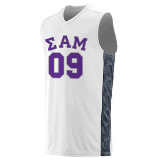 Sigma Alpha Mu Fast Break Game Basketball Jersey