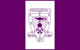 Sigma Alpha Mu Flag Decal Sticker