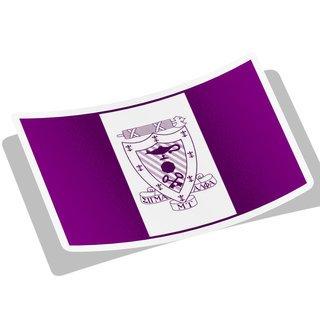 Sigma Alpha Mu Flag Decal Sticker