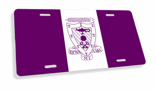Sigma Alpha Mu Flag License Cover