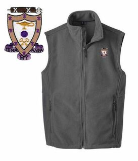 Sigma Alpha Mu Fleece Crest - Shield Vest