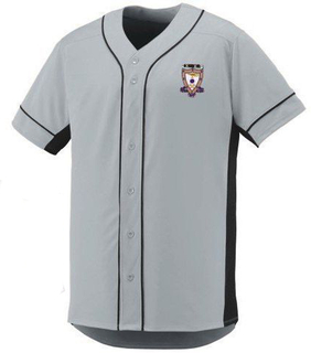 DISCOUNT-Sigma Alpha Mu Fraternity Crest - Shield Slugger Baseball Jersey