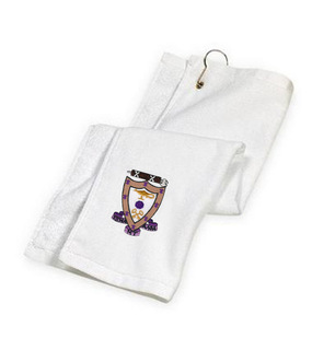 Sigma Alpha Mu Golf Towel