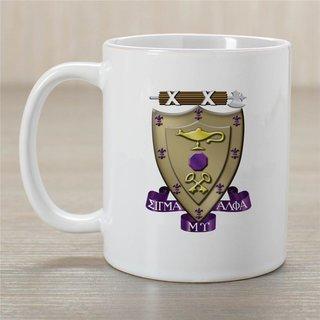 Sigma Alpha Mu Greek Crest Coffee Mug