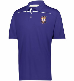 Sigma Alpha Mu Greek Crest Emblem Defer Polo