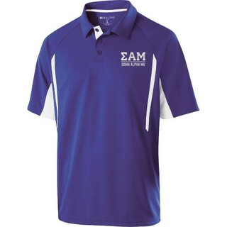 Sigma Alpha Mu Greek Letter Avenger Polo