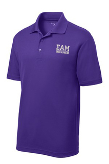 Sigma Alpha Mu Greek Letter Polo's