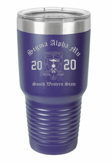 Sigma Alpha Mu Insulated Tumbler