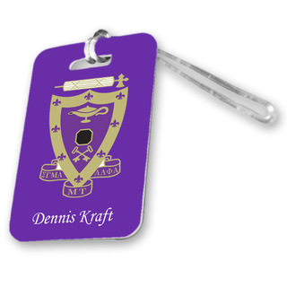 Sigma Alpha Mu Luggage Tag