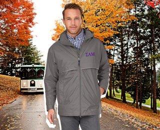 Sigma Alpha Mu Men's New Englander� Rain Jacket