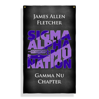 Sigma Alpha Mu Nations Giant Flag