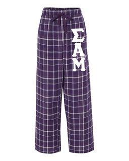 Sigma Alpha Mu Pajamas Flannel Pant