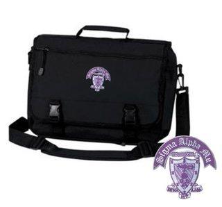 DISCOUNT-Sigma Alpha Mu Emblem Briefcase