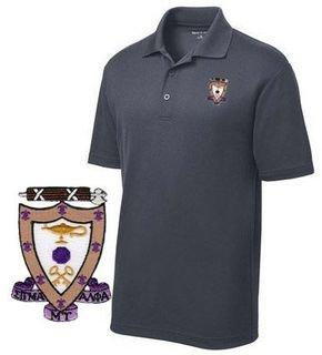 DISCOUNT-Sigma Alpha Mu Emblem Polo