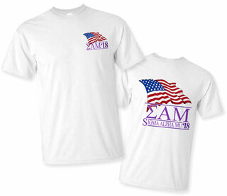 Sigma Alpha Mu Patriot Limited Edition Tee- $15!