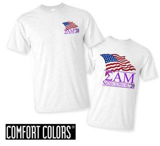 Sigma Alpha Mu Patriot  Limited Edition Tee - Comfort Colors