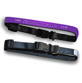 Sigma Alpha Mu Pet Collar