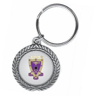 Sigma Alpha Mu Pewter Key Ring