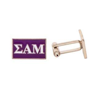 Sigma Alpha Mu Rectangle Cuff Links