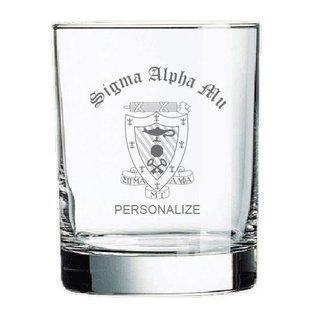Sigma Alpha Mu Old Style Glass