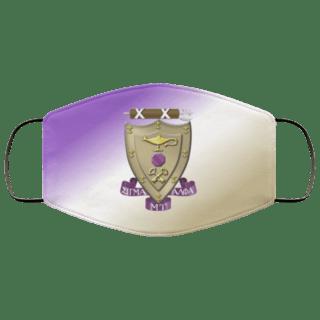Sigma Alpha Mu Super Crest Face Masks