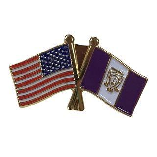 Sigma Alpha Mu USA Flag Lapel Pin
