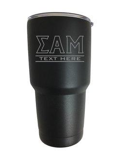 Sigma Alpha Mu Vacuum Insulated Tumbler