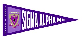Sigma Alpha Mu Wall Pennants