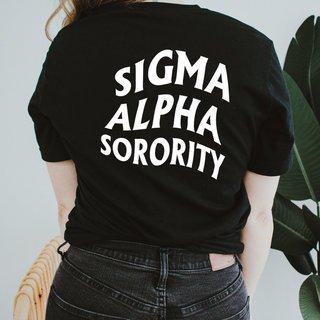 Sigma Alpha Social Tee