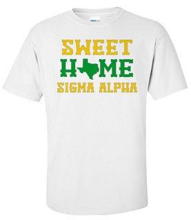 Sigma Alpha Sweet Home Tee