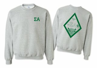 Sigma Alpha World Famous Crest - Shield Crewneck Sweatshirt- $25!