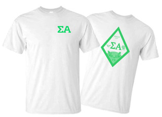 Sigma Alpha World Famous Crest - Shield Tee