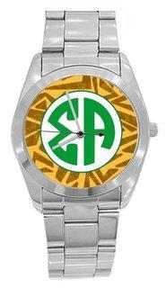 Sigma Alpha Zebra Steel Watch