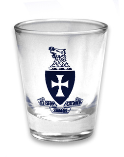 Sigma Chi 1.5oz Glass