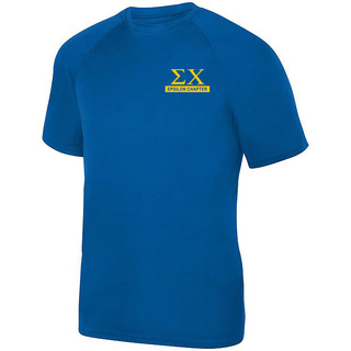 Sigma Chi- $15 World Famous Dry Fit Wicking Tee