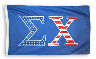 Sigma Chi 3 X 5 USA Flag