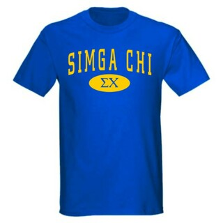 Sigma Chi arch Tees
