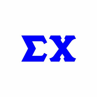 Sigma Chi Big Greek Letter Window Sticker Decal