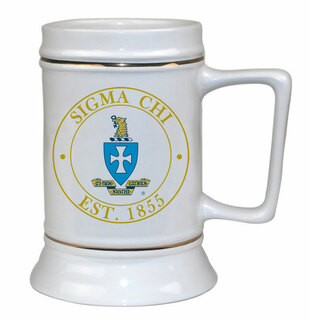 Sigma Chi Ceramic Collectors Stein