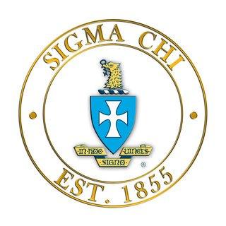 Sigma Chi Circle Crest - Shield Decal