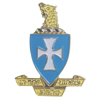 Sigma Chi Color Crest - Shield Pins