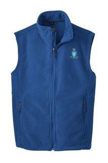 Sigma Chi Crest - Shield Fleece Vest