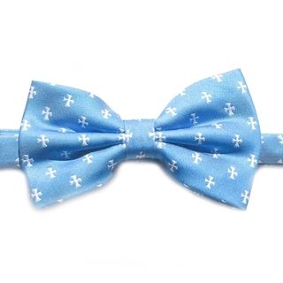 Sigma Chi Cross Bow Tie - Blue or Yellow
