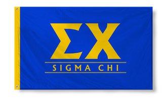 Sigma Chi Custom Line Flag