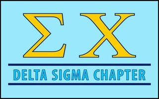 Sigma Chi Custom Line Sticker Decal