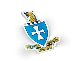 Sigma Chi Die Cut Crest Sticker